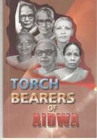 Torch Bearers of the  All India Democratic Women's Association