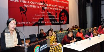 AIDWA'S SAVE INDIA CONVENTION  WOMEN CALL FOR A UNITED STRUGGLE AGAINST REGRESSIVE POLITICS