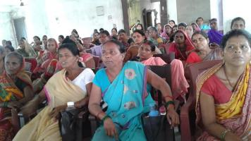 AIDWA Bihar state committee holds state-level 'NDA Sarkar se Beti Bachao' convention in Patna