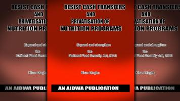 Resist Cash Transfers and Privitisation of Nutrition Programs
