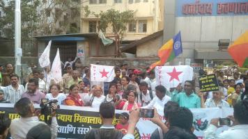 AIDWA, SFI, DYFI, DSMM hold Statewide Protests to Demand Justice for Dr Payal Tadvi